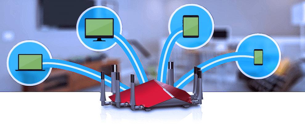 1 Технология - Multi-User Multiple Input Multiple Output «MU-MIMO»