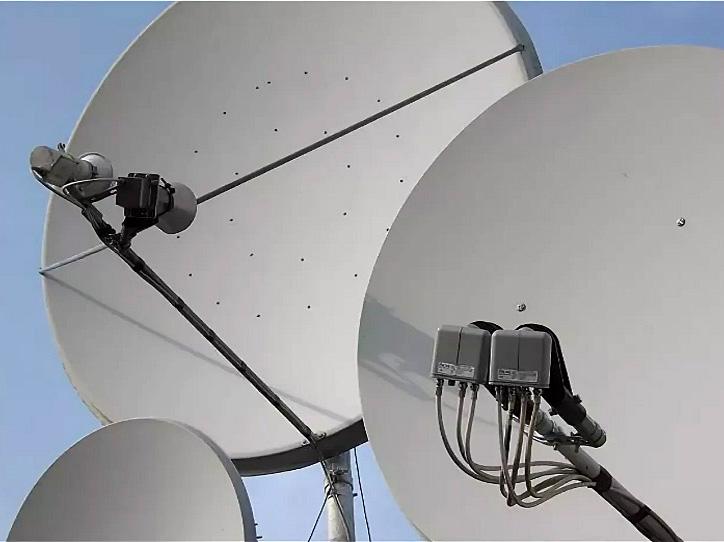 Офсетный вид антенны