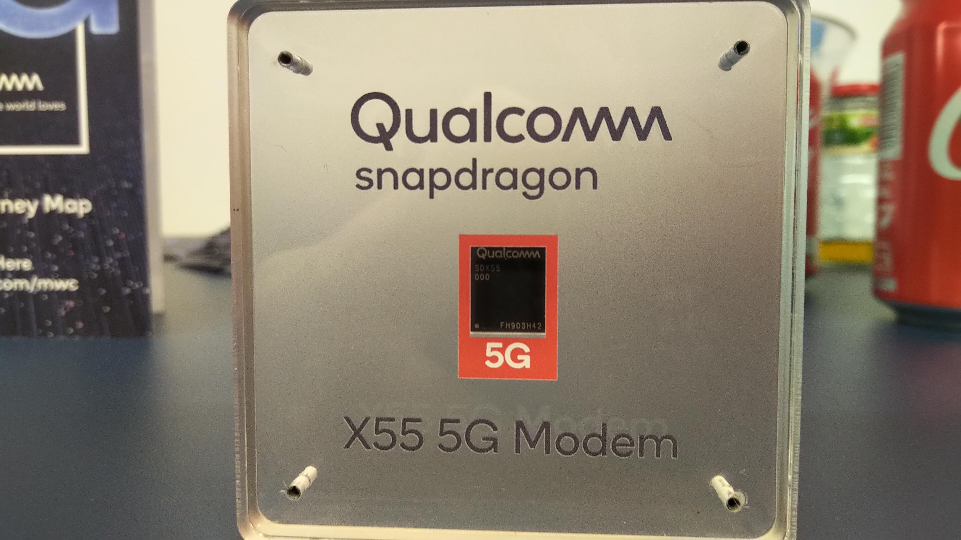 Snapdragon X55 новый чип 5G от компании Qualcomm