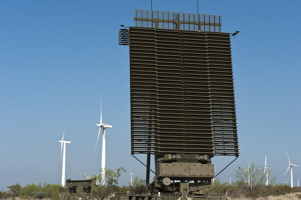 Вид антенны «ФАР» (Фазированные антенные решетки)