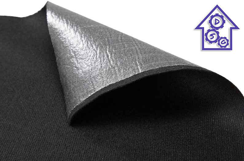 Маделин самоклеящийся уплотнительный материал на тканевой основе с полиэфирной пропиткой.