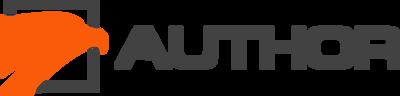 Логотип авторской компании AUTHOR.