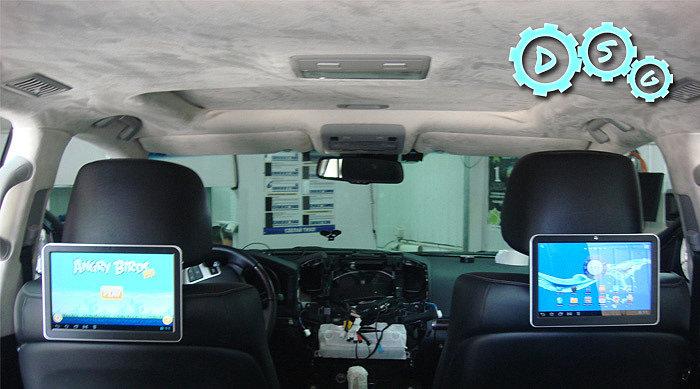 Выбираем систему TV приставку и/или монитор для автомобиля.