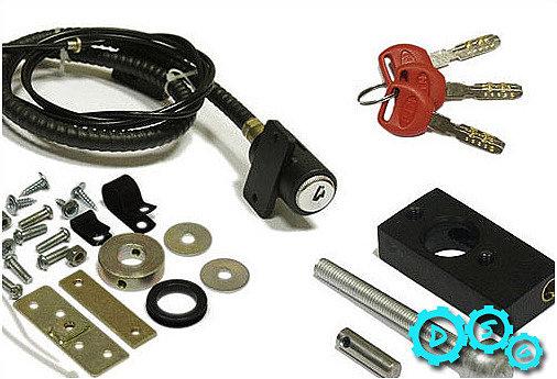Механический замок капота– это, изделие блокирующий элемент с самой обычной блокировкой при помощи ключа.