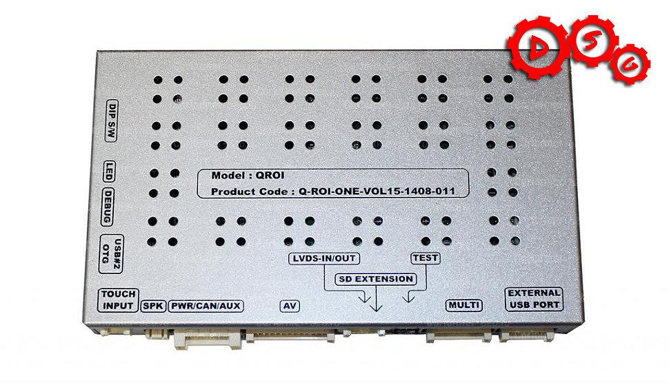 QROI MNS42 автомобильный навигационный блок премиум класса.