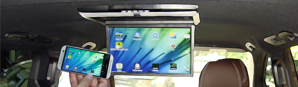 "13.3"" монитора XM 1360RDUD grey WiFi модуль с функцией Mirrorlink/Airplay"
