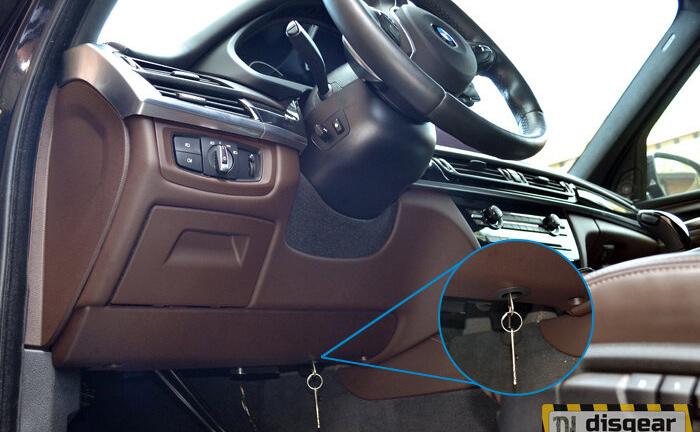 Гарант Форт 02001.N для BMW X6 c 2015 ЭлГУР без штыревой блокиратор рулевого вала