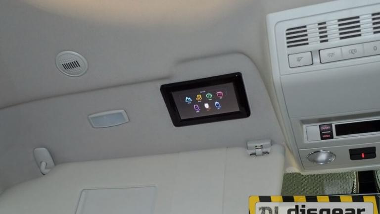 XM AN1760RDUD моторизированный потолочный Андроид монитор