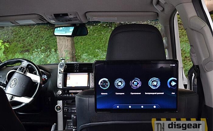 """12,5"""" универсальный навесной Android/ FullHD монитор на подголовник"""