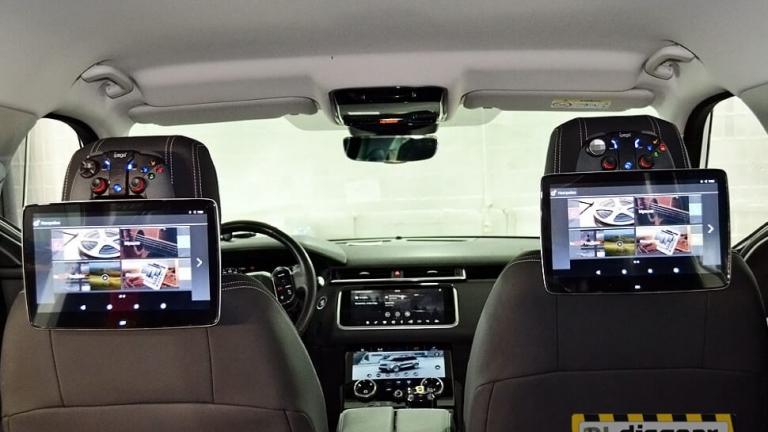 """11,6"""" для Land Rover Range Rover Velar навесной DSI11LRR Android Pie/ FullHD монитор на подголовник Velar"""