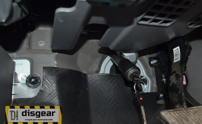 Гарант Блок Люкс 031.E/f/k для HYUNDAI H1 II с 2008 ГУР блокиратор рулевого вала