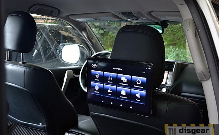 """11,6"""" для Toyota навесной Android/ FullHD монитор на подголовник"""