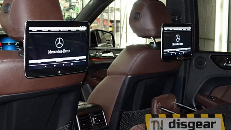 """12,5"""" для Mercedes навесной Dual Zone Android Full HD монитор на подголовникid: 6235"""