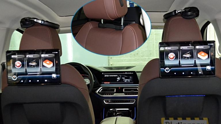 """12,5"""" для BMW навесной Dual Zone Android Game монитор на подголовник"""