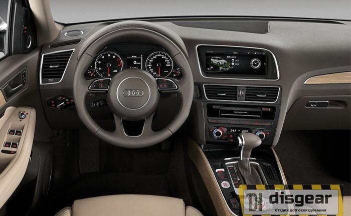 """8.8"""" Android для Audi Q5 с 2009 по 2017 штатное головное устройство"""