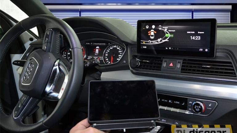 """10.25"""" Android для Audi Q5 с 2009 по 2017 штатное головное устройство"""