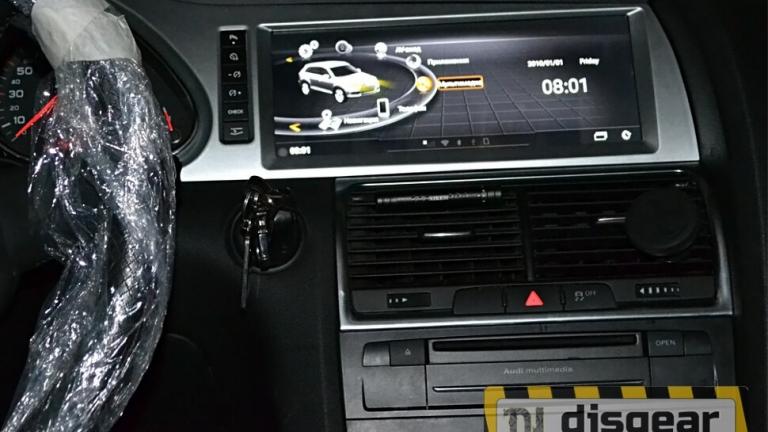 """10.25"""" Android для Audi Q7 2G с 2006 по 2009 штатное головное устройство"""