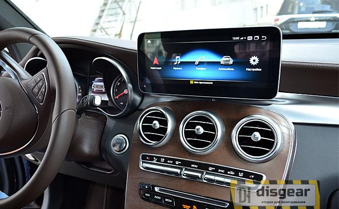 "10.2"" Android для Mercedes GLC class с 2015 по 2019 штатный WiFi монитор"
