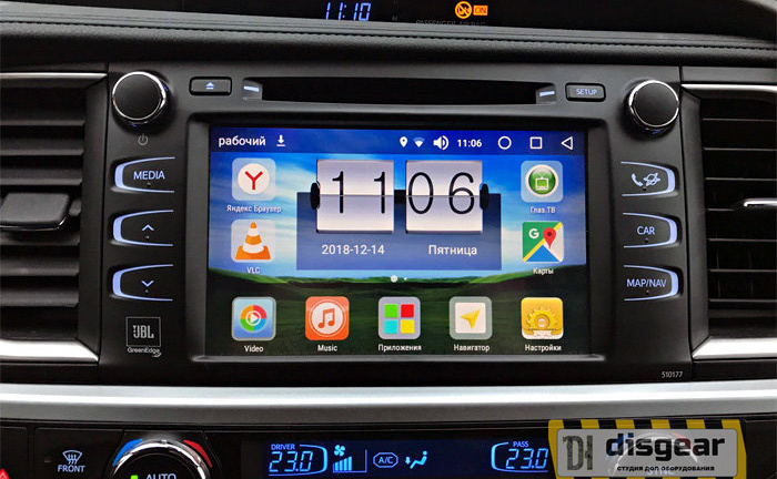 Android Oreo Navi Box RDL-01-NEW для Toyota Highlander Touch&Go 2 Panasonic