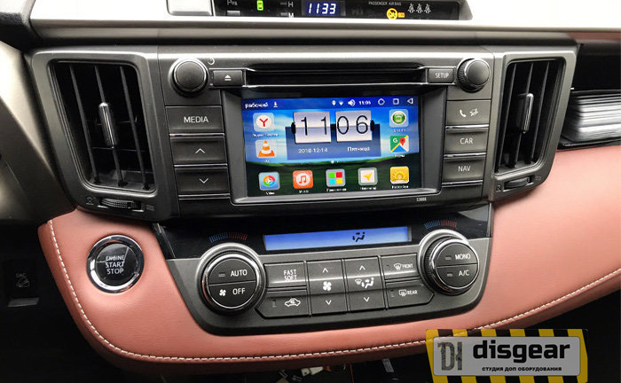 Android Oreo Navi Box RDL-01-NEW для Toyota Rav4 Touch&Go 2 Panasonic