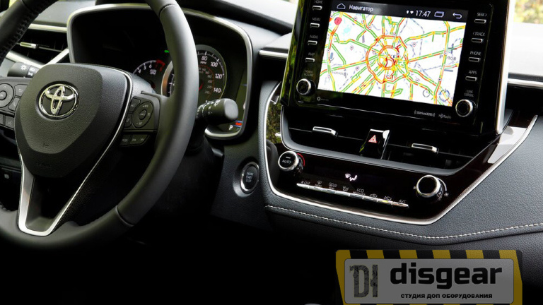Android Oreo Navi Box RDL-03-AIR для Toyota Corolla Touch&Go 3 Panasonic c JBL с 2018 по н.вр.