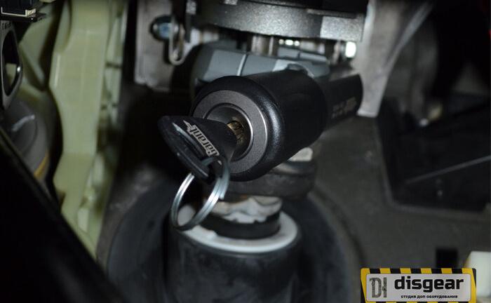 Гарант Блок Люкс 059.E/F для BMW X5 с 2015 по 2018 ЭлГУР блокиратор рулевого вала