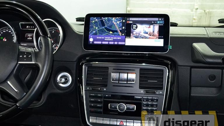 """10,2"""" Android для Mercedes G class Wagen с 2012 по 2015 магнитола с Яндекс навигатором"""