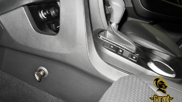 Замок на КПП Гарант Консул для Hyundai по маркам авто, механическая защита