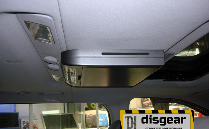 "13,3"" USB/ SD/ HDMI/ AV потолочный FullHD монитор черного цвета"