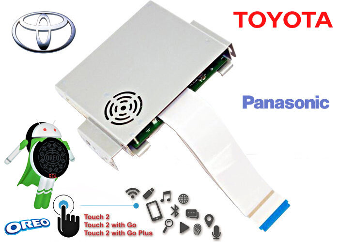 Android Oreo Navi Box RDL-01-NEW для Toyota с 2013 по 2018 Touch&Go 2 Panasonic