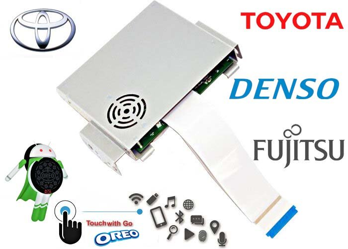 Android Oreo Navi Box RDL-04-AIR для Toyota Touch&Go 3 Fujitsu Ten и Denso с 2019 по н.вр.